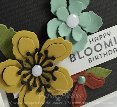 Botanical Blooms Stamp Set and Botanical Builder Framelit Dies #stampinup www.stampstodiefor.com 2