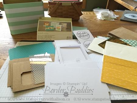 Stampin Up Tin Card Kit