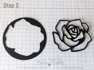 Rose Garden Thinlits Step 3
