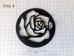 Rose Garden Thinlits Step 4