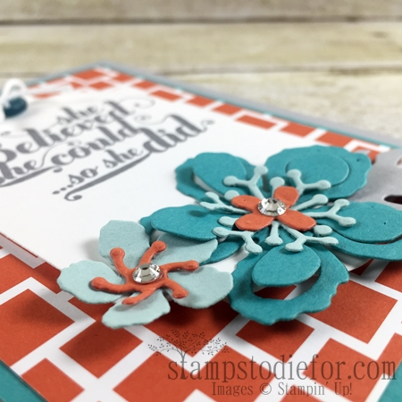 Color Your World International Blog Hop, Botanical Builder Framelits #stampinup www.stampstodiefor.com flowers