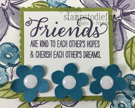 Petite Petal Punch #stampinup www.stampstodiefor.com 1