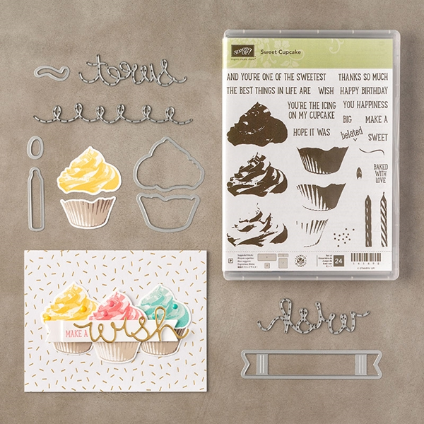 Sweet Cupcake and Cupcake Cutouts Framelits #stampinup