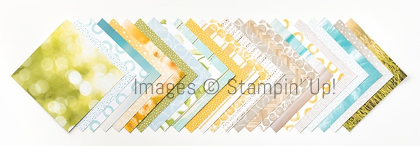 Serene Scenery Designer Series Paper by #stampinup #stampstodiefor www.stampstodiefor.com