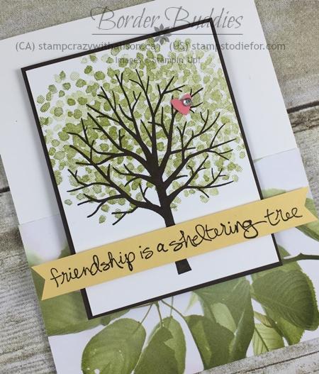 Sheltering Tree Stamp Set and Serene Scenery Designer Paper Hand Stamped Card #stampinup www.stampstodiefor.com.jpg 5