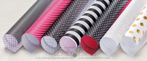 Pop Of Pink Disigner Series Paper #stampinup #justincase