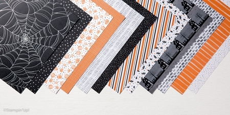Halloween Night Specialty Designer Series Paper by Stampn' Up! www.stampstodiefor.com