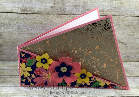 Twisted Fold Card by Stamps to Die For 1