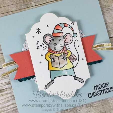 Just in Case Series Merry Mice Stamp Set by Stampin' Up! www.stampstodiefor.com tilt