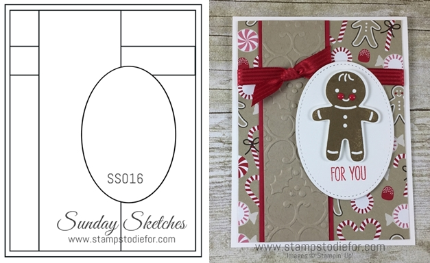 Sunday Sketches SS016 Cookie Cutter Christmas Stamp Set & Punch by Stampin' Up! www.stampstodiefor-horz