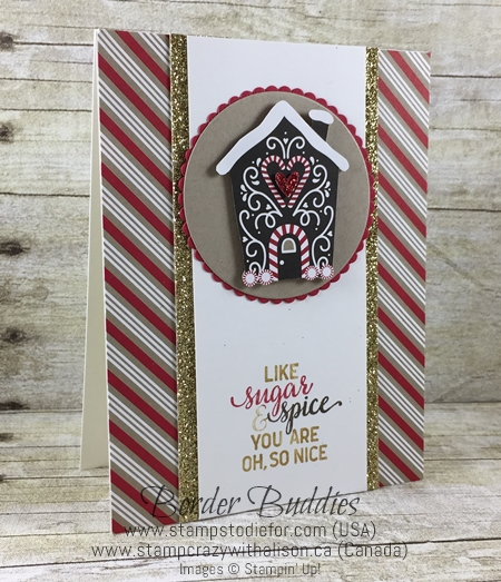 Candy Cane Lane Paper and Suite Sayings stamp set by Stampin Up www.stampstodiefor.com 3
