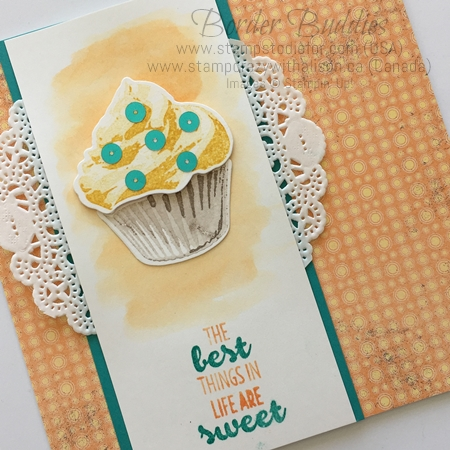 Sweet Cupcake stamp set and Cupcake Cutouts Framelits by Stampin' Up! www.stampstodiefor.com 3