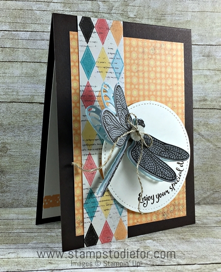 Dragonfly Dreams Stamp Set by Stampin' Up! www.stampstodiefor.com