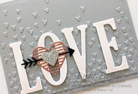 Border Buddies Saturday Love Notes Framelits & Falling Petals Embossing folder by Stampin' Up! www.stampstodiefor.com 2