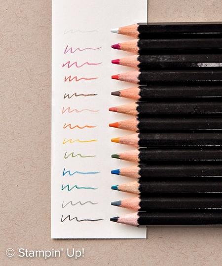Stampin' Up! Watercolor Pencils
