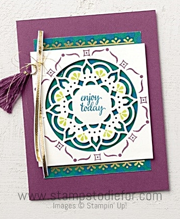 Eastern Beauty Stamp Set & Eastern Medallions Thinlits Dies by Stampin Up www.stampstodiefor.com 122