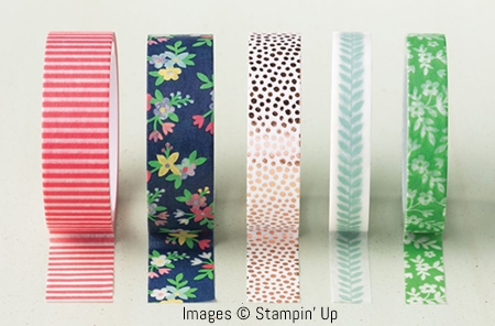 Affectionately Yours Washi Tape by Stampin' Up!