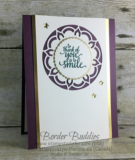Border Buddy PDF May Eastern Palace Suite by Stampin' Up!