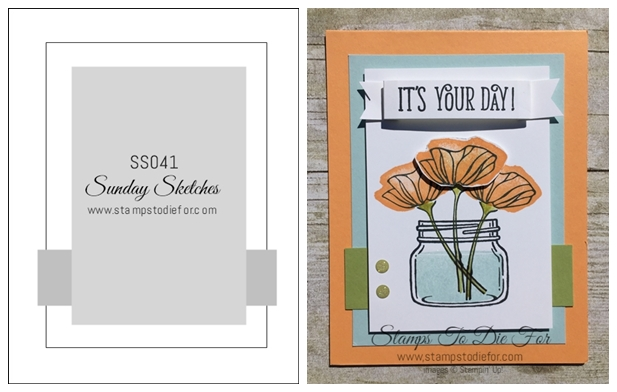 Sunday Sketches Series SS041 Oh So Eclectic Stamp Set by Stampin' Up! www.stampstodiefor-horz