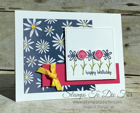 Swirly Bird & Happy Birthday Gorgeous Stamp Sets & Swirly Scribbles Thinlits by Stampin' Up! www.stampstodiefor.com