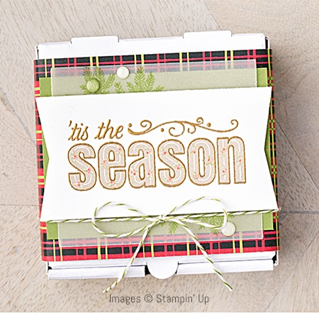 Merry Patterns Stamp Set by Stampin' Up! Christmas Card Sample 5