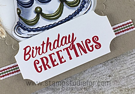 Just in CASE Birthday Deliver stamp set & Birthday Friends Framelits by Stampin' Up! www.stampstodiefor.com s