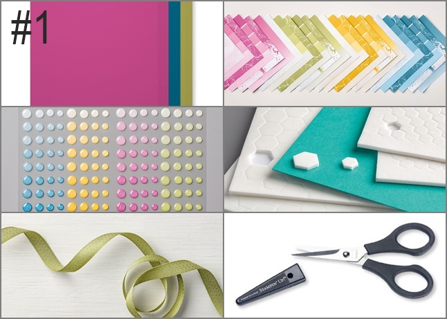 Color Theory Suite by Stampin' Up! Top Ten no.1