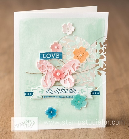 Bloomin' Love Stamp Set by Stampin' Up! www.stampstodiefor.com