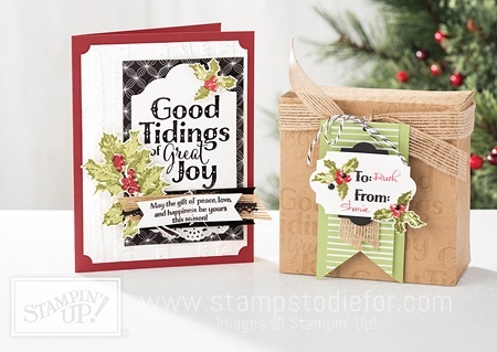 Good Tidings Stamp Set by Stampin' Up! www.stampstodiefor.com