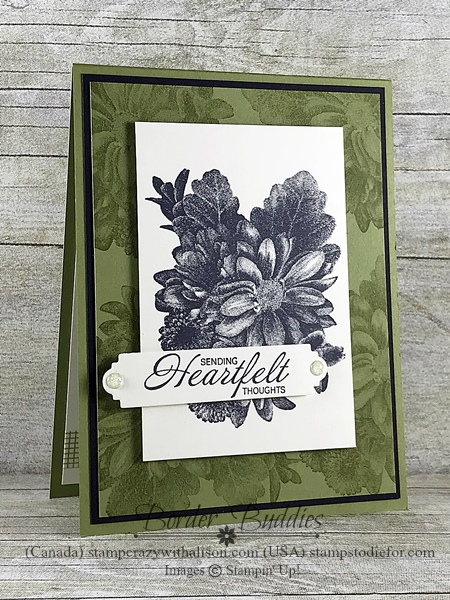 Border Buddy PDF Tutorial Heartfelt Blooms stamp set by Stampin' Up! www.stampstodiefor.com #stampinup #occasionscatalog #petalpalette  6