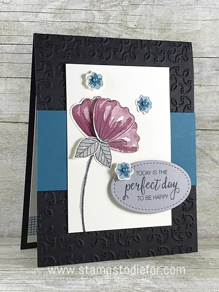 Bunch of Blossoms Stamp Set by Stampin' Up! www.stampstodiefor.com #stampinup #bunchofblossoms 2