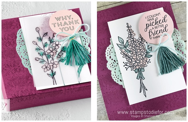 Just in CASE Lots of Lavender stamp set by Stampin' Up! www.stampstodiefor.com #SAB #stampinup #lotsoflavender 23