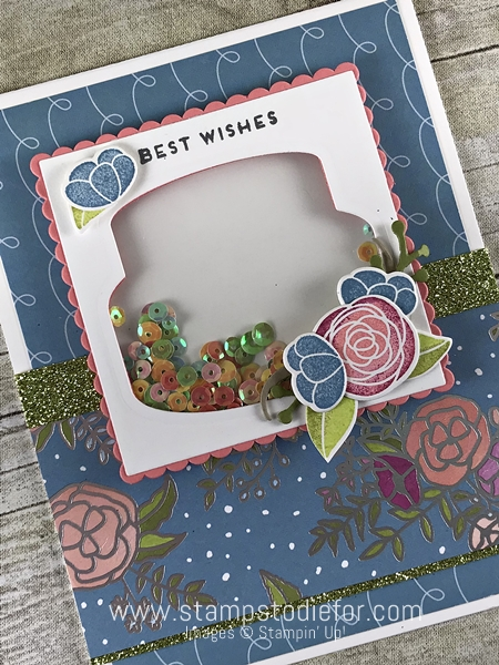 SS023 Handmade Birthday Card using the Cake Soiree stamp set by Stampin Up 1