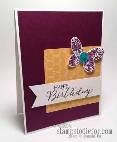 Butterfly basic stampin up stamp set