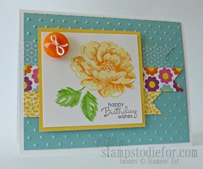 Stampin' Up! Stippled Blossom