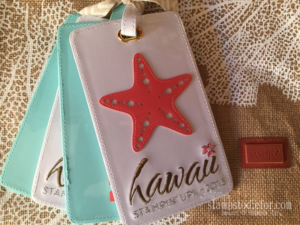Luggage tags hawaii stampin up 015
