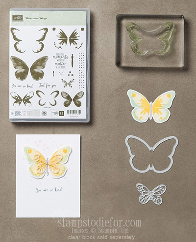 Watercolor Wings Bundle 2