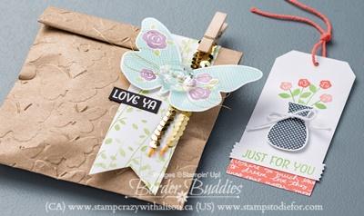 Floral Wings Stamp Set Stampin Rewards