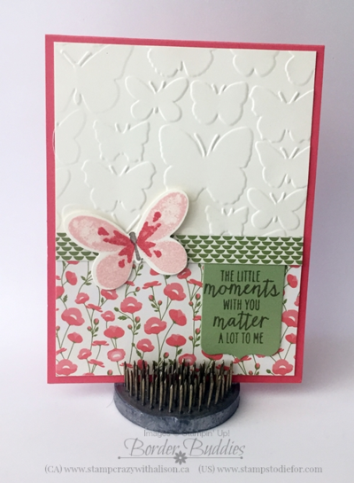 Pretty petals designer series paper stack and watercolor wings