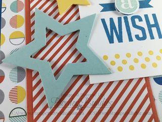 Tip for Star Framelits #stampinup #birthdaycard
