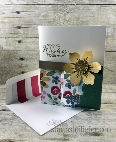 Beautiful Blooms Ruffle Fold Card 1 www.stampstodiefor.com