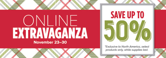 Extravaganza sale stampin up 50% off