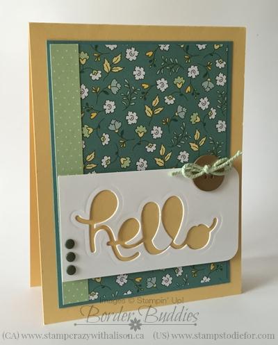 Hello You Card Stampin' Up! Thinlits Dies www.stampstodiefor.com #stampinup #bigshot #thinlits