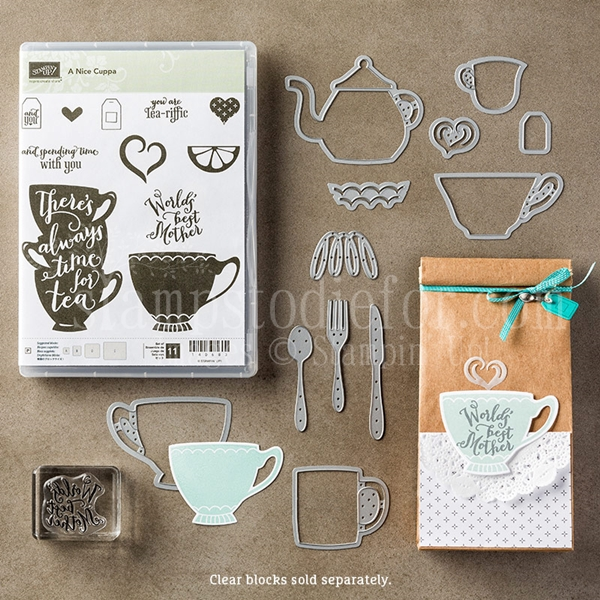 A nice cuppa & cups and kettles framelits bundle and save