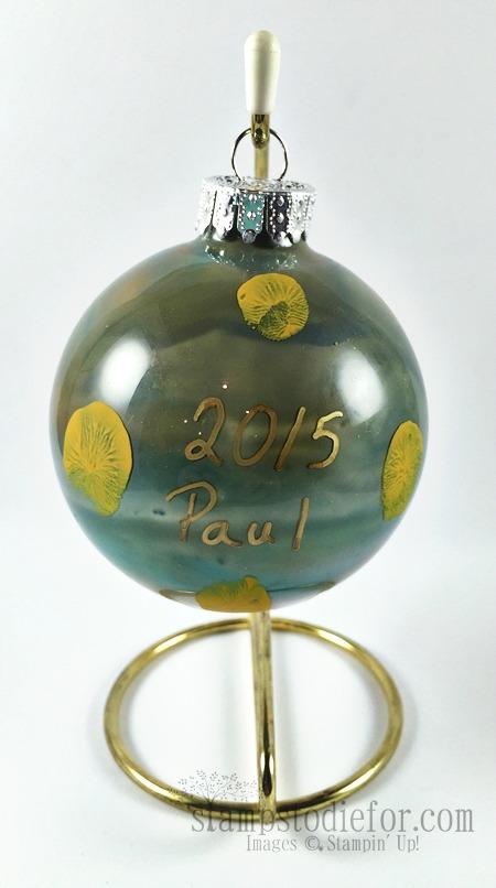 Paul Waggoner Christmas Ornament 2015