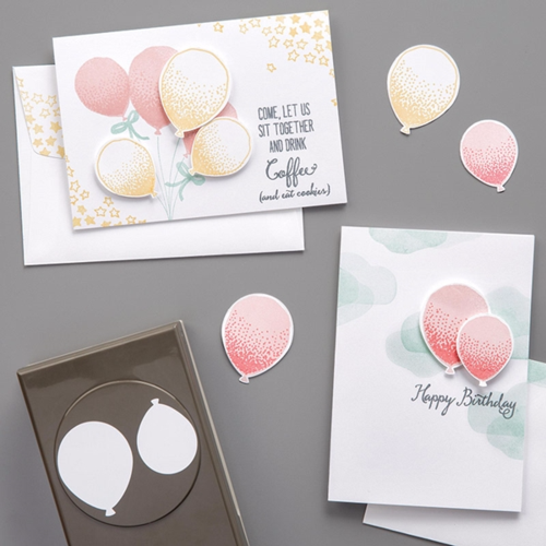 Balloon Punch #140609 #stampinup