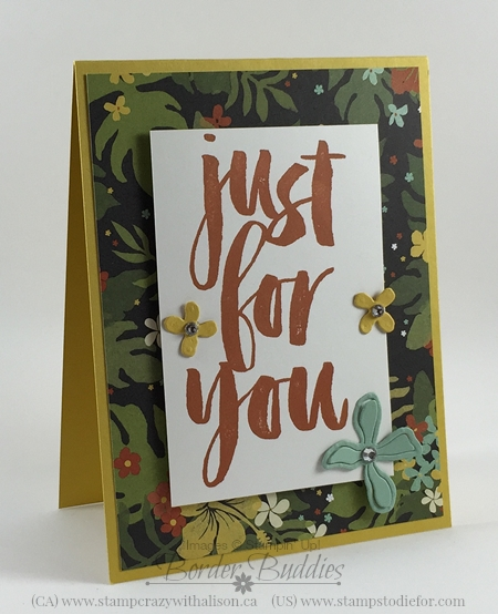 February Earn Free Cards 2016 Botanicals For You Stamp Set #stampinup www.stampstodiefor.com