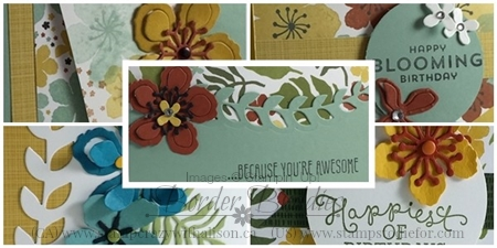 Botanical Blooms February 2016 Earn Free Cards #stampinup