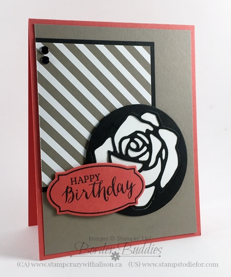 26-Rose Garden Thinlits Dies, Rose Wonder Stamp Set #stampinup www.stampstodiefor.com 3