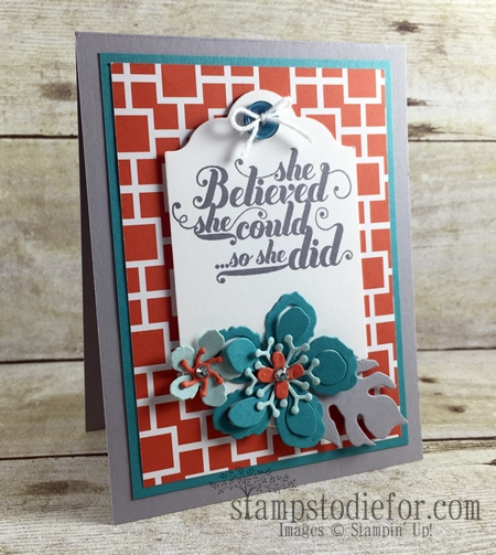 Color Your World International Blog Hop, Botanical Builder Framelits #stampinup www.stampstodiefor.com